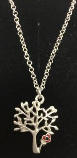 Tree of Life Necklace (Poppy)